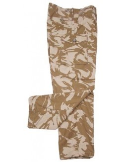 Pantalón militar DDPM Ejército Británico. Original
