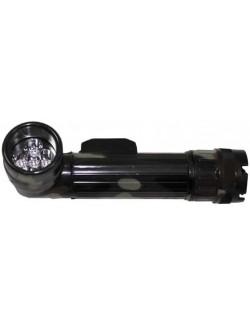 Linterna militar anglehead, 5 LED, grande, Woodland.
