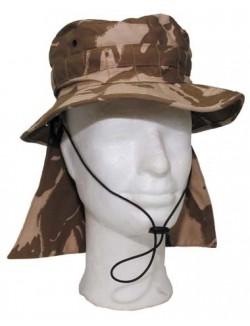 Chambergo de Jungla DDPM, Ejército Británico