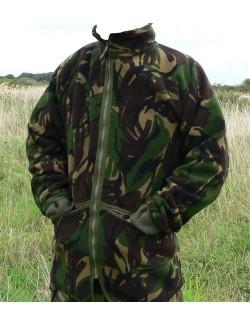 Forro polar original del Ejército Británico, camo DPM.