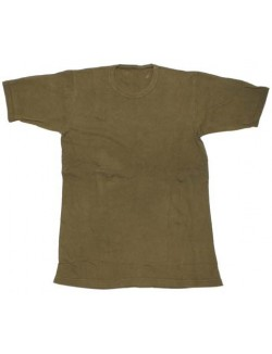 Camiseta interior Ejército Británico, OD Green.