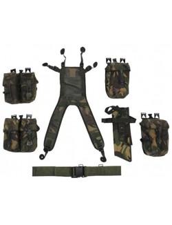 Set de Trinchas PLCE en DPM, 7 piezas. Ejército Británico