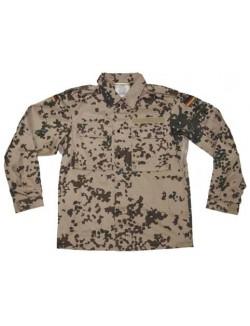 Chaqueta militar,  Alemania, camuflaje Tropentarn, Original