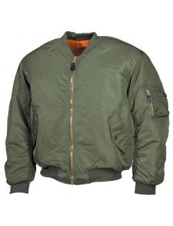 Bomber MA1 clásica de piloto americano