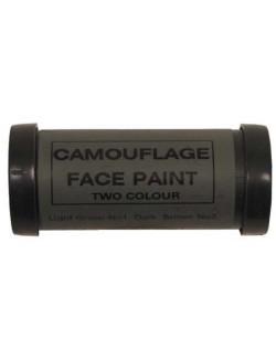 Pintura facial de Camuflaje 2 colores, Ejército Británico