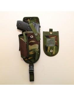 Pistolera DPM con solapa, Ejército Británico