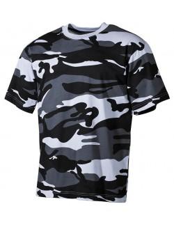 Camiseta Urban Camo, 100% algodón