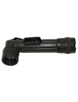 Linterna militar anglehead, 4 LED, mediana