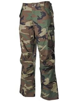Pantalones US M65 woodland, material original
