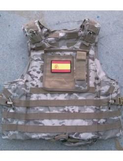 Parche PVC bandera española