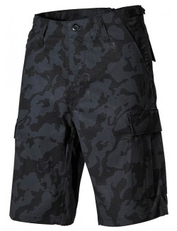 Bermuda US BDU RipStop, Night Camo