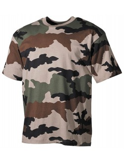 Camiseta CCE Camo, 100% algodón