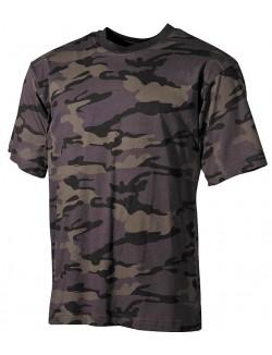 Camiseta Combat Camo, 100% algodón