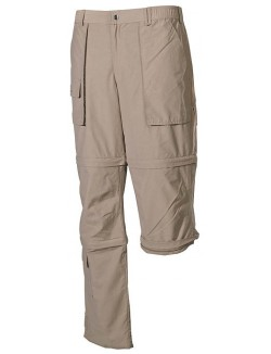 Pantalón técnico desmontable, color Khaki