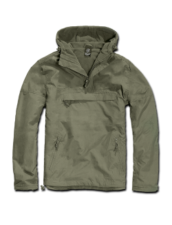 Windbreaker con forro, color OD, Brandit