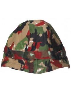 Funda de casco Alpenflage, Ejército Suizo