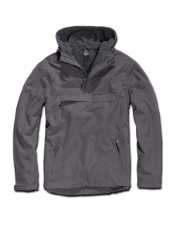 Windbreaker con forro, color Antracita, Brandit