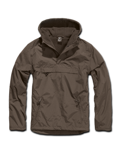Windbreaker con forro, color Marrón, Brandit