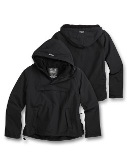 Windbreaker con forro, color Negro
