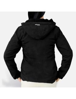 Windbreaker para Chicas con forro, color Negro