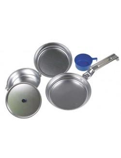 Set de cocina de aluminio 4 piezas