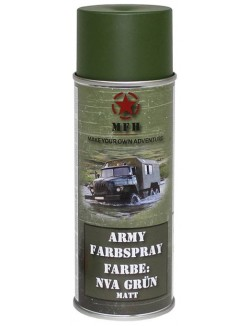 Spray de pintura militar, varios colores, 400ml