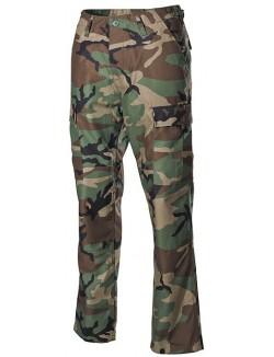 Pantalon US BDU, camuflaje Woodland