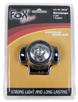 Linterna frontal LED, pequeña