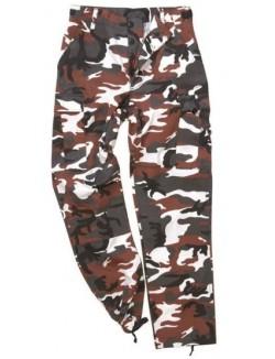 Pantalon Ranger BDU, camuflaje Urban Red