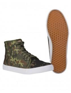 Zapatillas Sneaker, Camuflaje Flecktarn