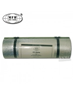 Esterilla verde, recubrimiento aluminio