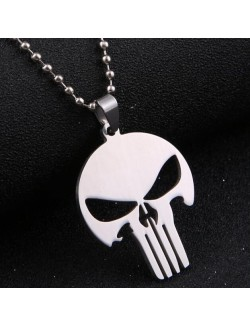 Collar con emblema Punisher