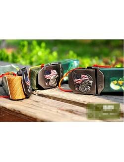 Cinturón Hebilla Bandera USA