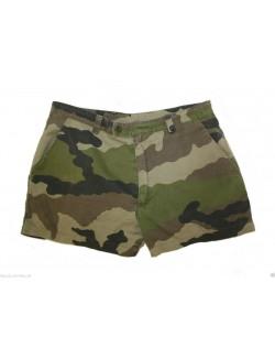 Pantalón corto Ejército francés F2 camo