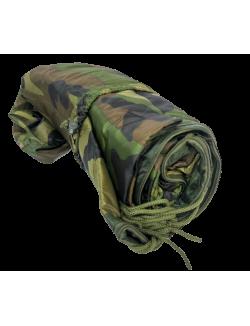 Manta americana de camuflaje, con cremallera