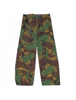 Pantalon lluvia DDPM, Ejército Británico