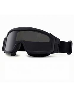 Gafas táctica RK3 con tres lentes y varios colores