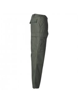 Pantalón US BDU reforzado, color Verde