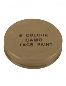 Pintura facial 5 colores con espejo