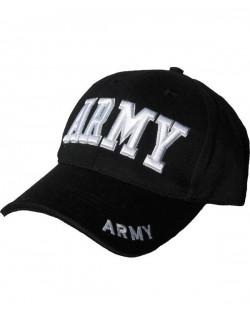 Gorra beisbol Army negra.