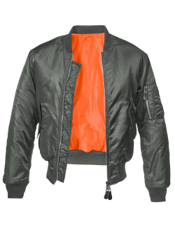 Bomber MA1 color antracita