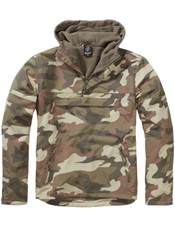 Windbreaker con forro, Light Woodland Camo, Brandit