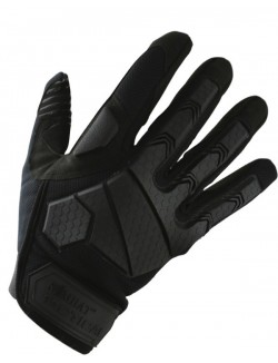 Guantes Alpha Tactical, color negro