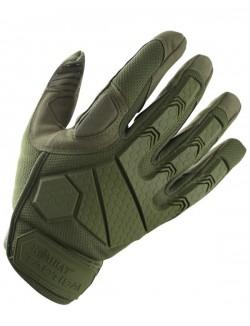 Guantes Alpha Tactical, color negro