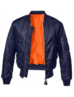 Bomber MA1 color azul