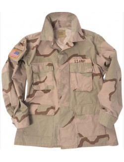 Chaqueta militar US Army Desert 3 colores Original