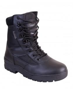 Botas militares de combate color negro