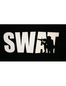 Camiseta SWAT, negra.