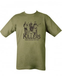 Camiseta The Killers, verde.