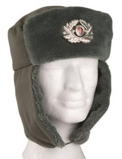 Gorro invierno de oficial, NVA, ejército alemán.